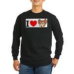 kitty1 Long Sleeve Dark T-Shirt