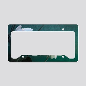 Classic Sweet Peas License Plate Holder