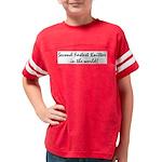 2ndfastestknitter Youth Football Shirt