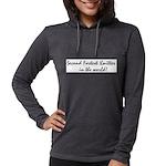 2ndfastestknitter Womens Hooded Shirt