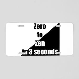 zero2zen Aluminum License Plate