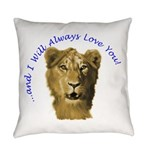 lionfacef Everyday Pillow