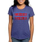 CrimeTime2-w Womens Tri-blend T-Shirt