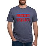 CrimeTime2-w Mens Tri-blend T-Shirt