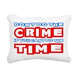 CrimeTime2-w Rectangular Canvas Pillow