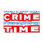 CrimeTime2-w Rectangle Car Magnet