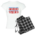 CrimeTime2-w Women's Light Pajamas