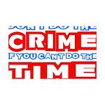 CrimeTime2-w 35x21 Wall Decal