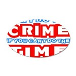 CrimeTime2-w 20x12 Oval Wall Decal