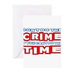 CrimeTime2-w Greeting Cards (Pk of 20)