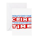 CrimeTime2-w Greeting Card