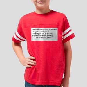 quote9 Youth Football Shirt