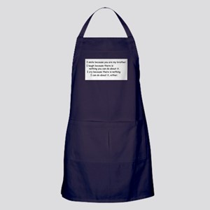 quote9 Apron (dark)