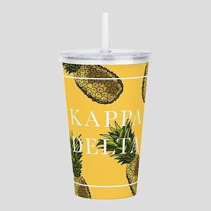Kappa Delta Pineapples Acrylic Double-wall Tumbler