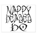 Nappy Headed Ho Tribal Design Small Poster