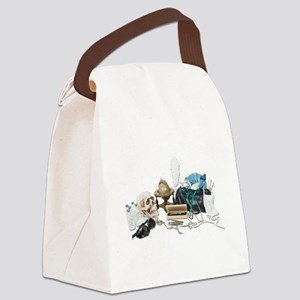 VintageMedicalDeskItems070111 Canvas Lunch Bag