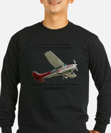Pilots control their own destination Long Sleeve T