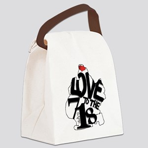 Love to the 718 (Brooklyn) Canvas Lunch Bag