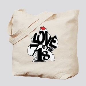 Love to the 718 (Brooklyn) Tote Bag