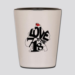 Love to the 718 (Brooklyn) Shot Glass