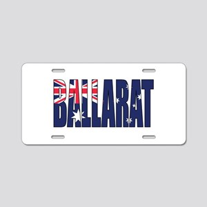 Ballarat Aluminum License Plate