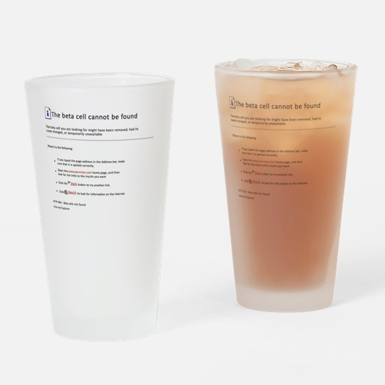 Beta cell Drinking Glass