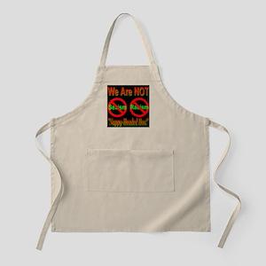 No Sexism/Racism Midnight Bla BBQ Apron