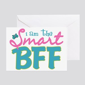 I am the Smart BFF Greeting Card