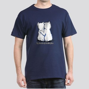 Hugging Westies Dark T-Shirt