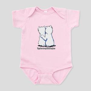 Hugging Westies Infant Bodysuit