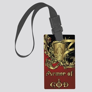 Armor of God Large Luggage Tag