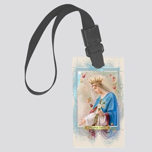 Regina Coeli Large Luggage Tag