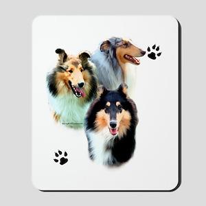 Collie Trio Mousepad