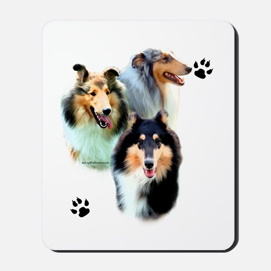 Collie Trio Mousepad