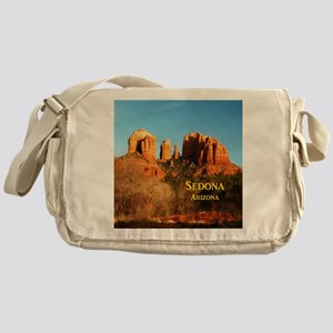 Sedona_11x9_CathedralRocks Messenger Bag