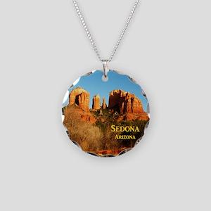 Sedona_11x9_CathedralRocks Necklace Circle Charm