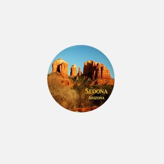 Sedona_11x9_CathedralRocks Mini Button