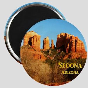 Sedona_11x9_CathedralRocks Magnet