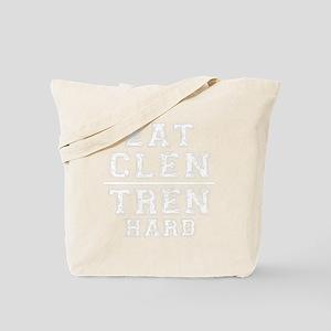 Eat Clen Hard Tote Bag