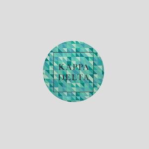 Kappa Delta Geometric Mini Button
