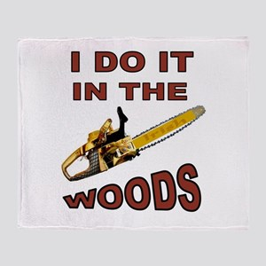 WOODSMAN Throw Blanket