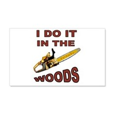 WOODSMAN Wall Decal