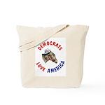 Democrats Love America Tote Bag