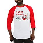 Santa is a Democrat Baseball Jersey
