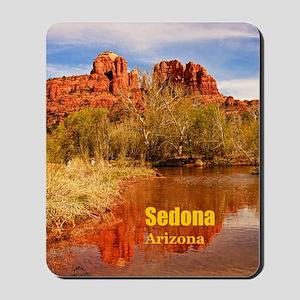 Sedona_5X7_Card_CathedralRock Mousepad