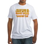 Inner Nappy Headed Ho Fitted T-Shirt