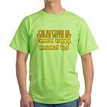 Inner Nappy Headed Ho Green T-Shirt
