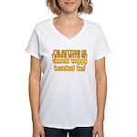 Inner Nappy Headed Ho Women's V-Neck T-Shirt