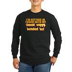 Inner Nappy Headed Ho Long Sleeve Dark T-Shirt