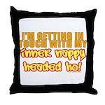 Inner Nappy Headed Ho Throw Pillow
